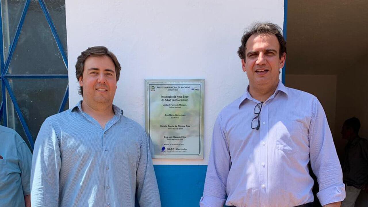 Imagem Principal - Inauguração Oficial da nova sede do SAAE em Douradinho 001 (2)