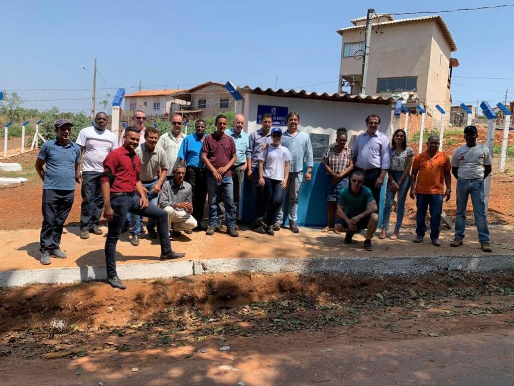 Inauguração da estação elevatória de esgoto de Douradinho (1)