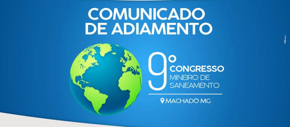 COMUNICADO DE ADIAMENTO - SITE