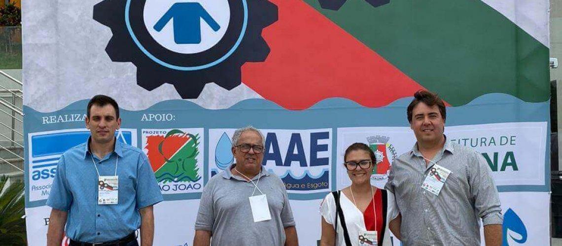 SAAE PARTICIPANDO DO 8º CONGRESSO MINEIRO DE SANEAMENTO DA ASSEMAE EM ITAÚNA MG 002